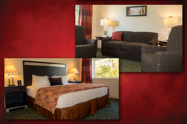 UGA Hotel's Lumpkin King Suite can connect to additional rooms
