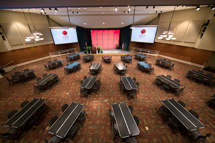 UGA's Mahler Hall is a multifunctional meeting and event space