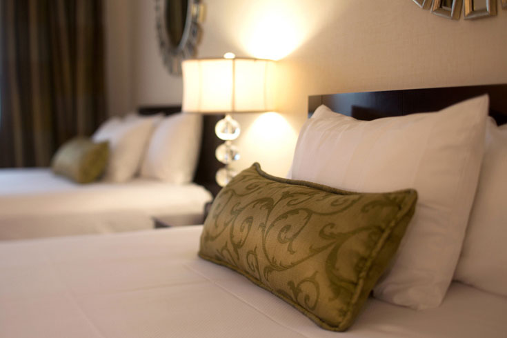 UGA Hotel's Select Double rooms can accommodate up to four guests
