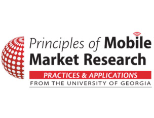 Mobile Market Research Online Course at The University of Georgia
