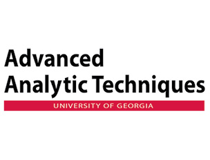 Advanced Analytic Techniques at the University of Georgia