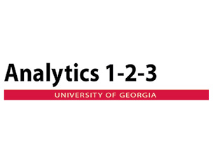 Analytics 1-2-3 Bundled Courses offered at the University of Georgia
