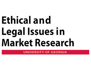 Ethical and Legal Issues in Market Research at UGA