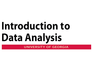 Introduction to Data Analysis at the University of Georgia