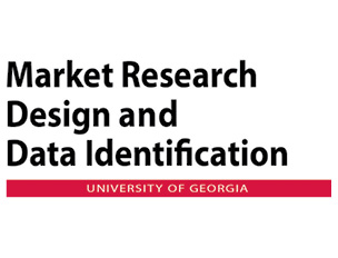 Market Research Design and Data Identification course at UGA