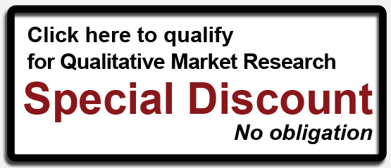 Click here to qualify for Qualitative Market Research Special Discount