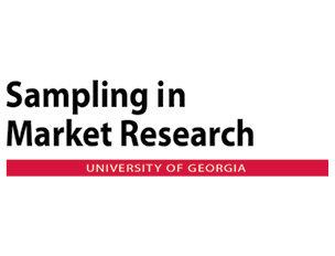 Sampling in Market Research at UGA