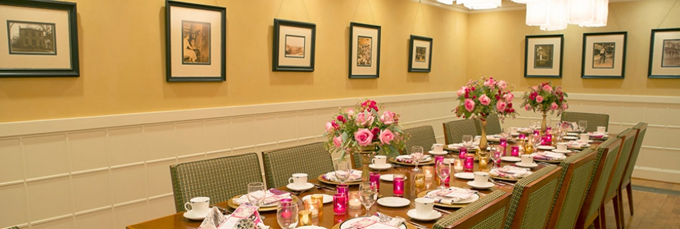 Banquets, receptions, special events and dining -- the UGA Hotel hosts it all