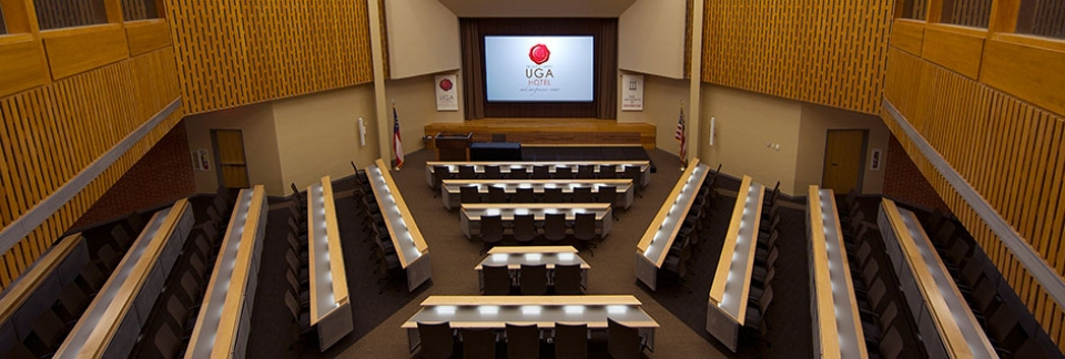 UGA's Masters Hall can accommodate 200 people