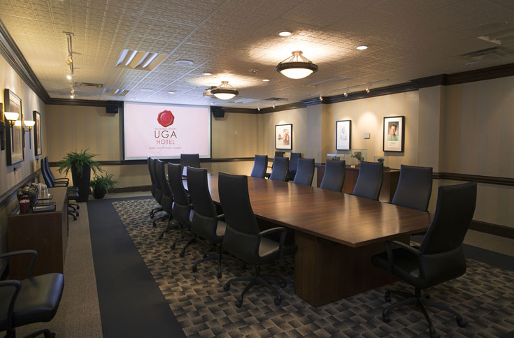 UGA's Craige Boardroom features masterful artwork