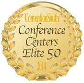 Convention South 2014 Elite 50 Conference Centers Award