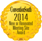 ConventionSouth 2014 New or Renovated Meeting Site Award