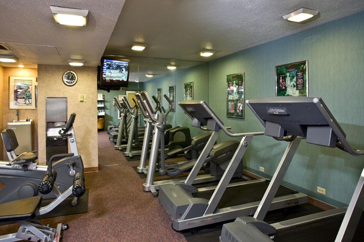 The UGA Hotel offers several fitness options for guests