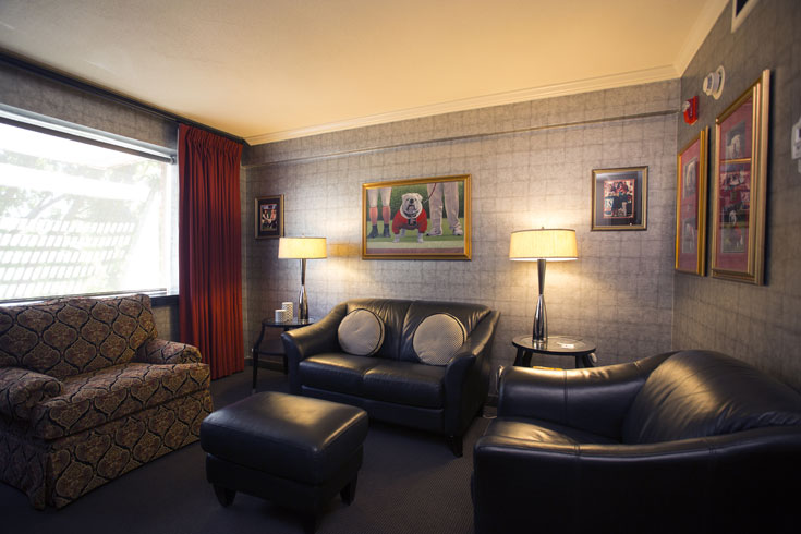 The UGA Hotel's Uga Suite is one suite option among many