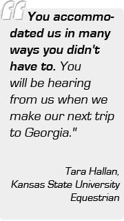 Tara Hallan, Kansas State University Equestrian