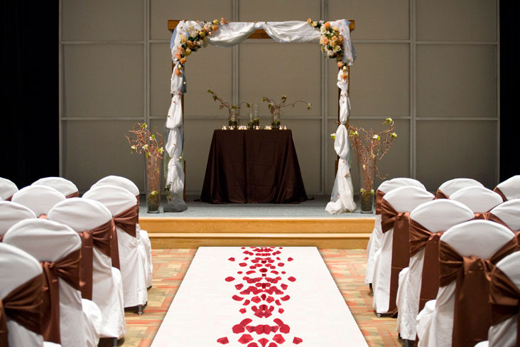 The UGA Hotel serves a wide range of wedding and reception needs