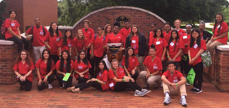 Health Careers Youth Conference 2018 group
